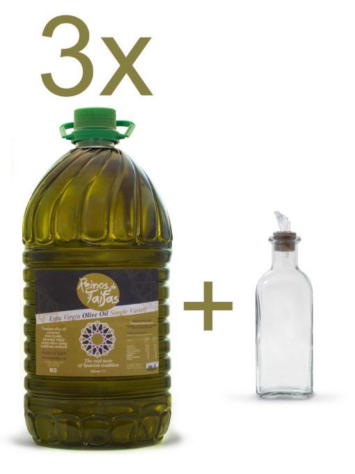 Olive Oil Picual Alfanje Box 3 x 5000ml bottles Trade
