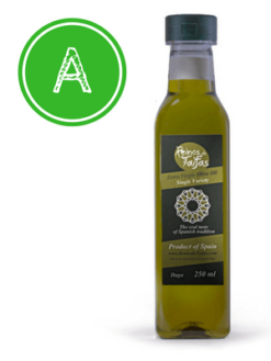 Arbequino 'Single Variety' extra virgin olive oil - Daga 250ml bottle of Green Gold by Reinos de Taifas
