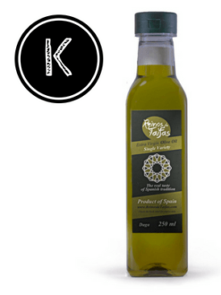 Koroneiki 'Single Variety' extra virgin olive oil - Daga 250ml bottle of Green Gold by Reinos de Taifas