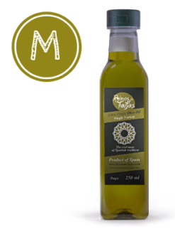 Picual 'Single Variety' extra virgin olive oil - Daga 250ml bottle of Green Gold by Reinos de Taifas