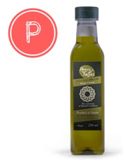 Picudo 'Single Variety' extra virgin olive oil - Daga 250ml bottle of Green Gold by Reinos de Taifas