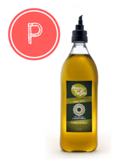 Picudo 'Single Variety' extra virgin olive oil - Falcata 1000ml bottle of Green Gold by Reinos de Taifas