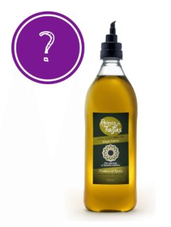 Random 'Single Variety' extra virgin olive oil - Almarada 1000ml bottle of Green Gold by Reinos de Taifas