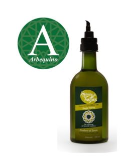Arbequino Single Variety Extra virgin olive oil - Almarada 500ml bottle of Green Gold by Reinos de Taifas