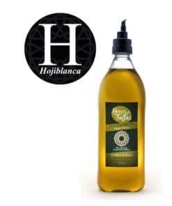 Hojiblanca Single Variety extra virgin olive oil - Almarada 1000ml bottle of Green Gold by Reinos de Taifas