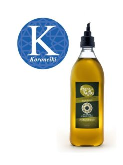 Koroneiki Single Variety extra virgin olive oil - Almarada 1000ml bottle of Green Gold by Reinos de Taifas