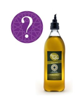 Random Single Variety extra virgin olive oil - Almarada 1000ml bottle of Green Gold by Reinos de Taifas